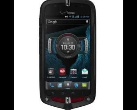 Casio G'zOne Commando 4G LTE C811