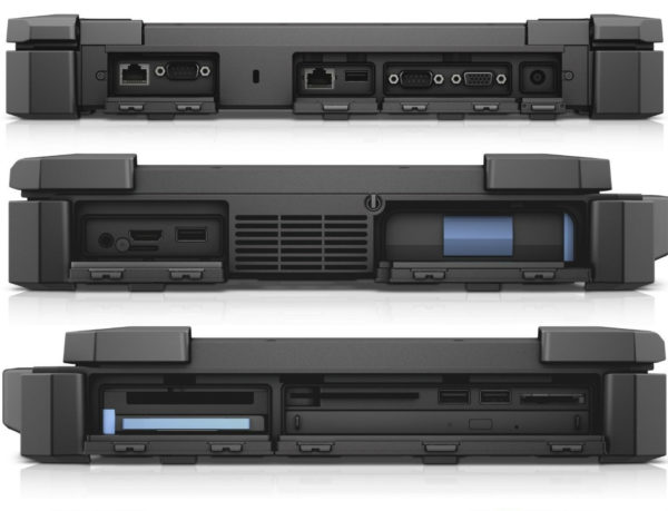 DELL Rugged 14 extreme ports