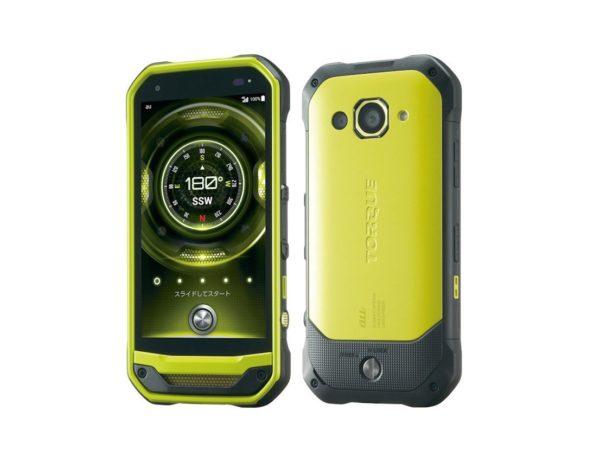 защищенный смартфон Kyocera Torque G03