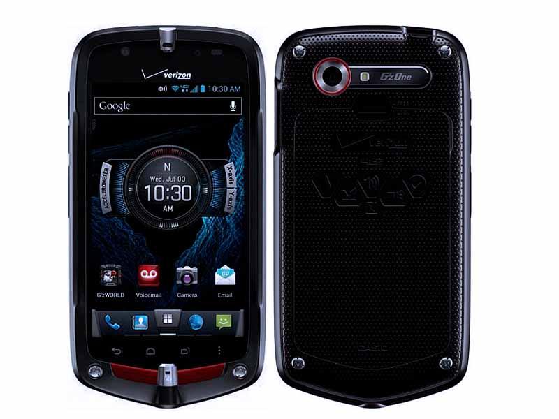 Защищенные смартфоны, на которые стоит обратить внимание Casio G'ZOne Commando C811