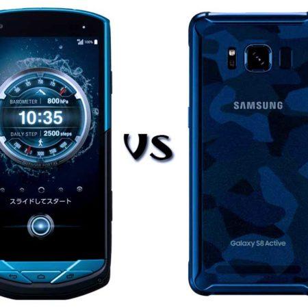 Крепкие вещи – Kyocera Torque G02 и Samsung Active S8