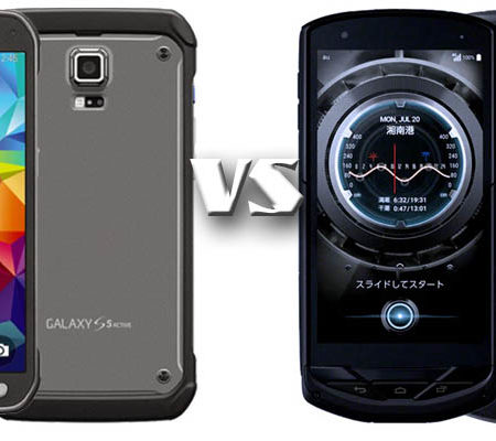 Samsung Galaxy S5 Active против Kyocera Torque G02