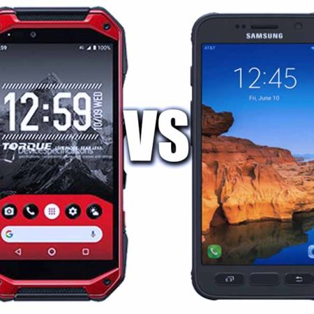 Kyocera Torque G04 vs Samsung S7 Active