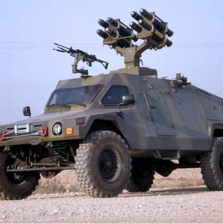 Армейские внедорожники Израиля. Часть 2
