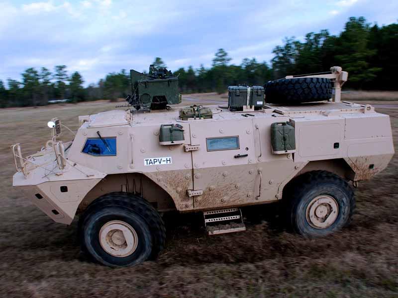 Армейские бронированные внедорожники Канады